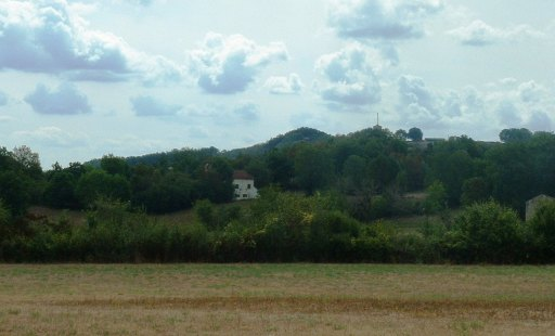 Rolling countryside on La Lune