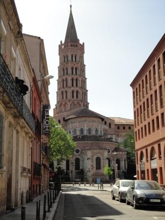 La Basilique Saint-Sernin - rear view