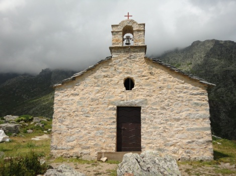 Chapelle de Saint-Eliseo above Saint-Pietro di Venaco