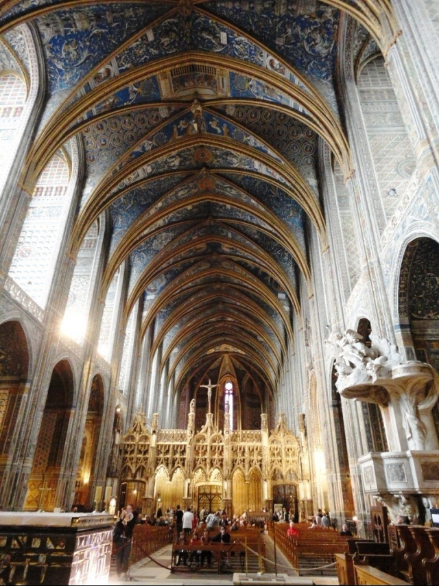 Albi - Cathedral Nave