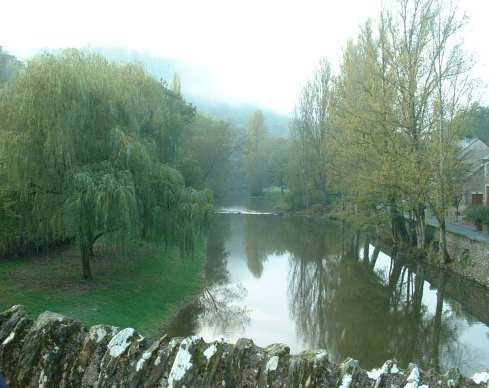 River Aveyron at Belcastel