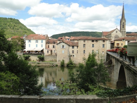 Saint-Antonin-Noble-Val - not an Alpine setting