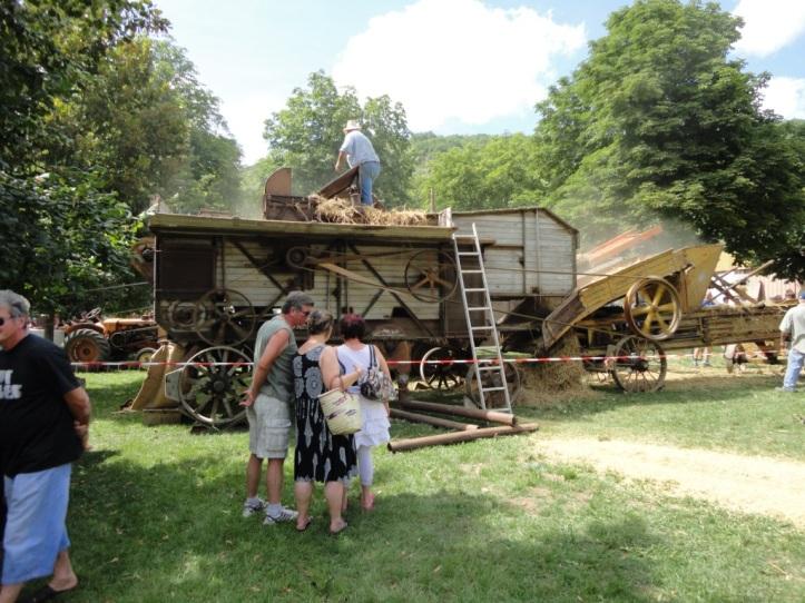 Saint-Antonin Threshing Machine