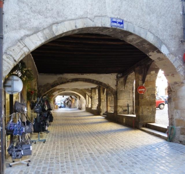 Villefranche - arcades