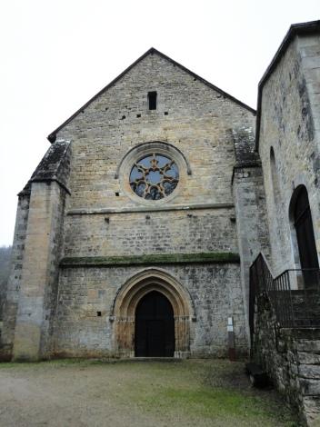 Abbaye de Beaulieu - Front Elevation