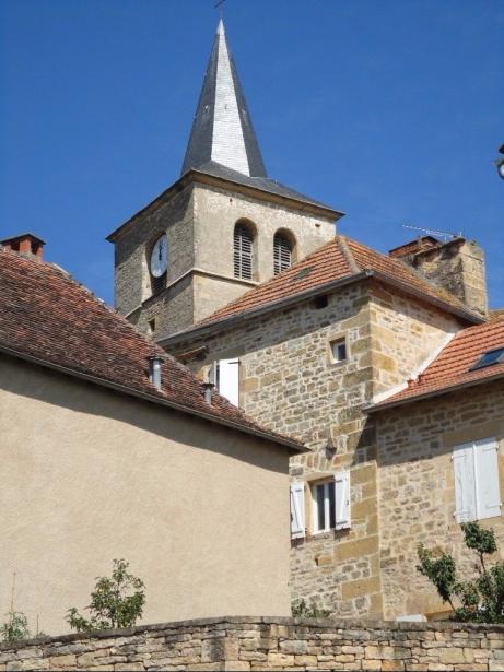 Parisot - church