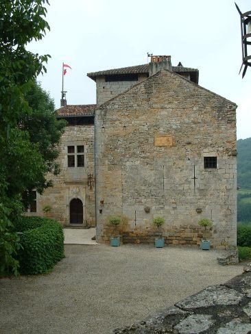 Château de Cas in its restored state