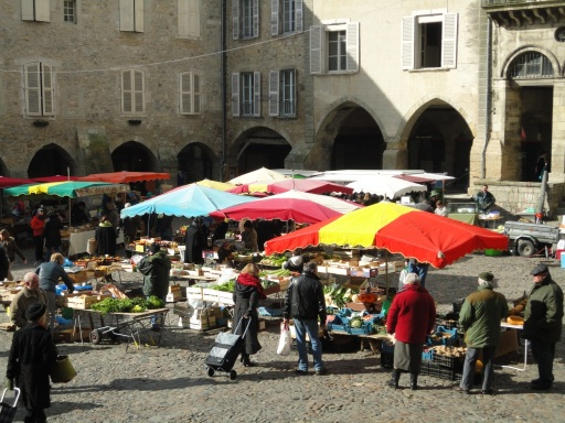 Villefranche market