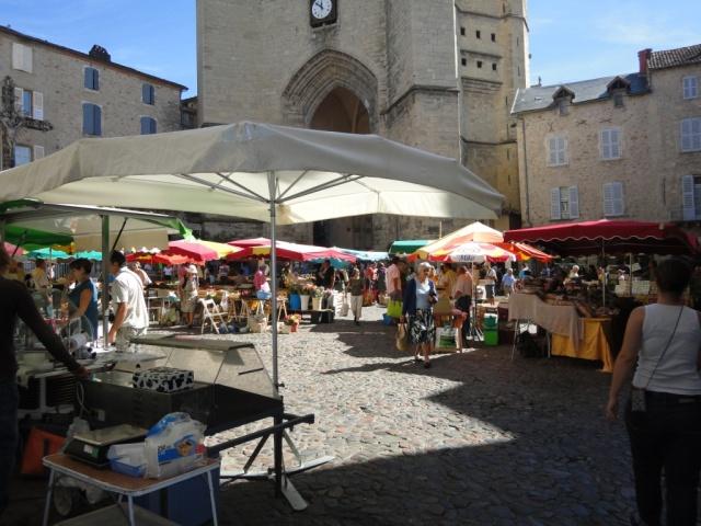 Villefranche- Thursday market