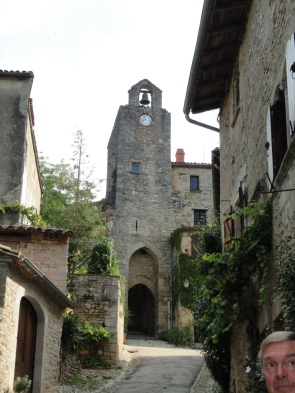 Bruniquel bell tower
