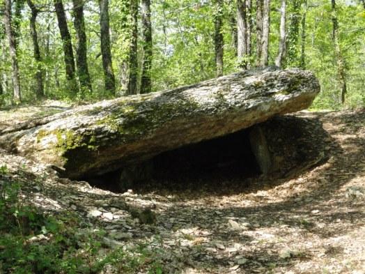 One of 15 Dolmens around Septfonds