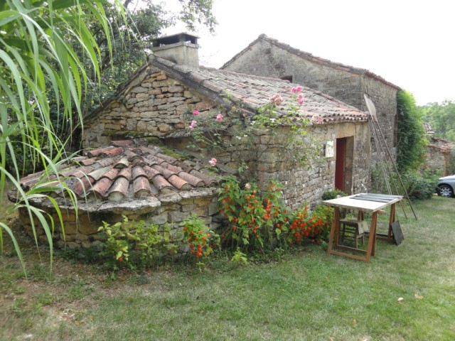 Bread oven at Flouquet