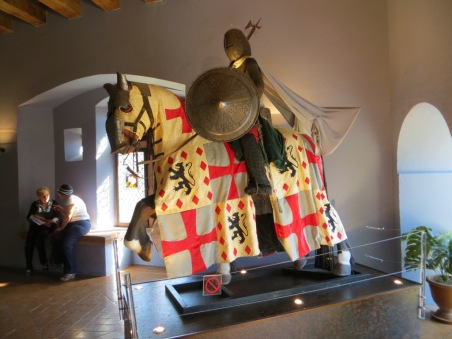 Exhibit in the armour collection