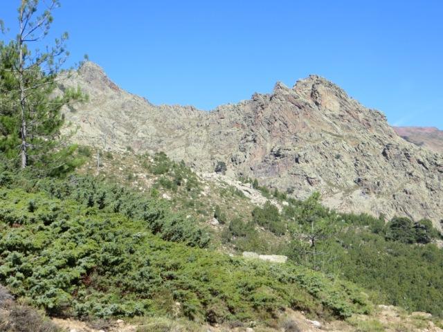 Jagged landscape of Corsica