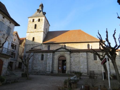 Eglise Saint-Etienne at Cajarc