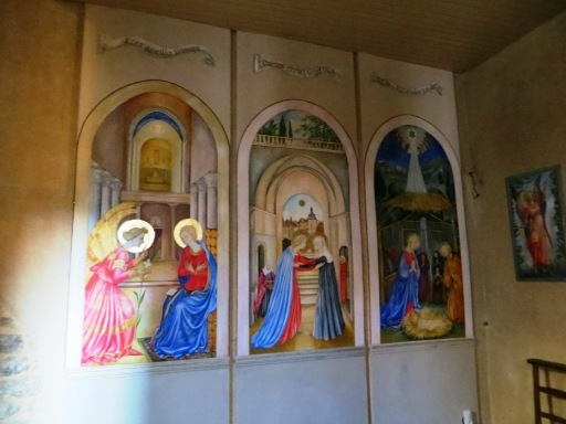 Wall paintings in the church