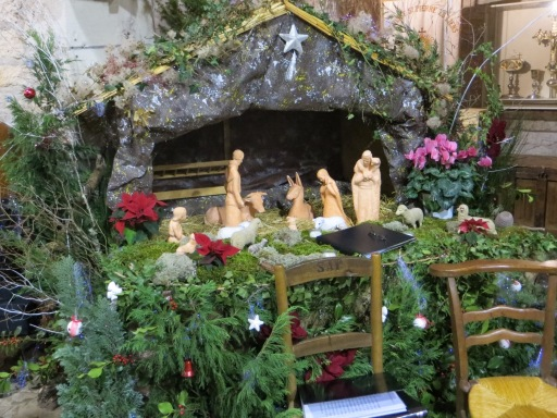 Christmas crèche at Parisot