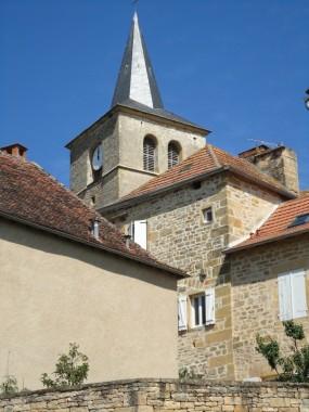 Eglise Saint-Andéol at Parisot