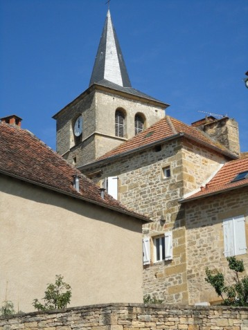 Eglise Saint-Andéol at Parisot