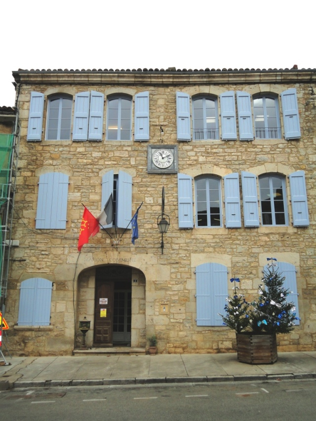 Local Mairie - first port of call