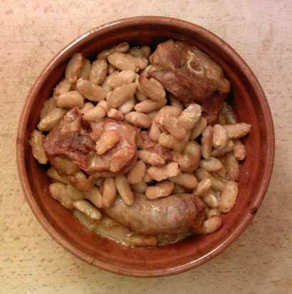 Cassoulet: Photo - Guilhem06 Wikimedia Commons