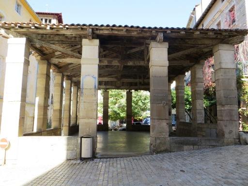 Market hall at Saint-Antonin