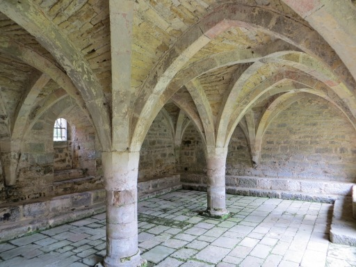 Abbey chapter house