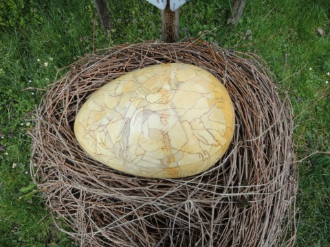 Easter Egg - made by local artist Catherine Smedley