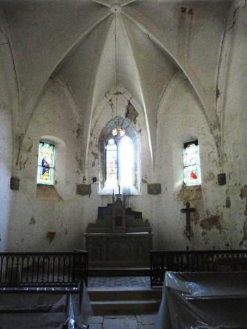 Chapel interior - before