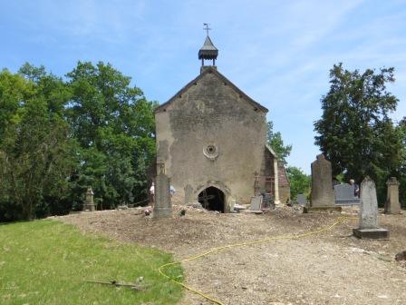 Chapel front June 2013