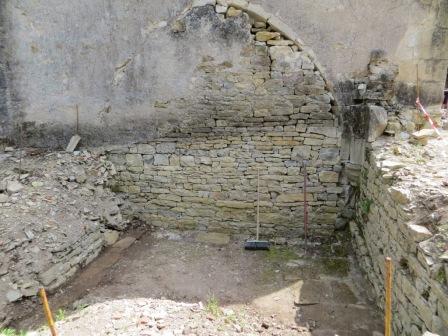 Excavated de la Valette chapel