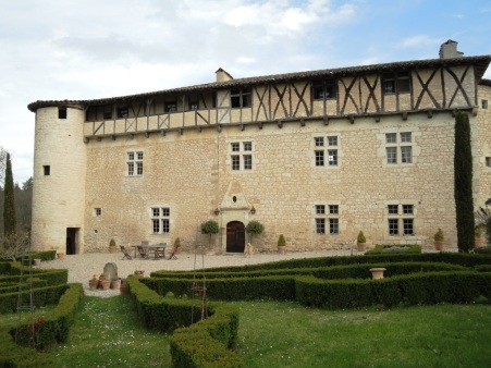 Château de Mayragues façade