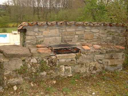 Rustic barbecue
