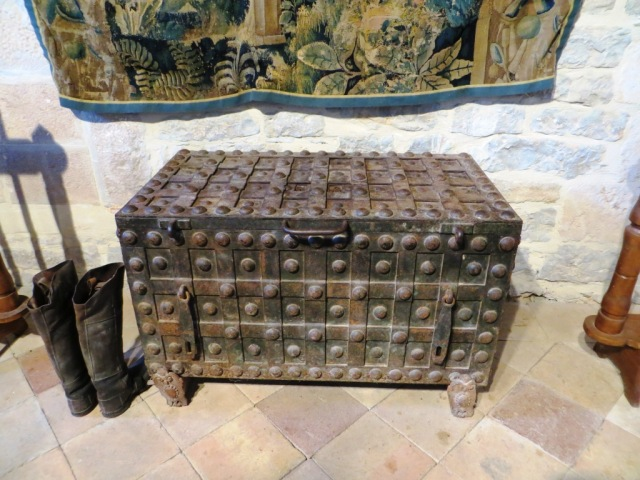 Massive coffer for soldiers' wages