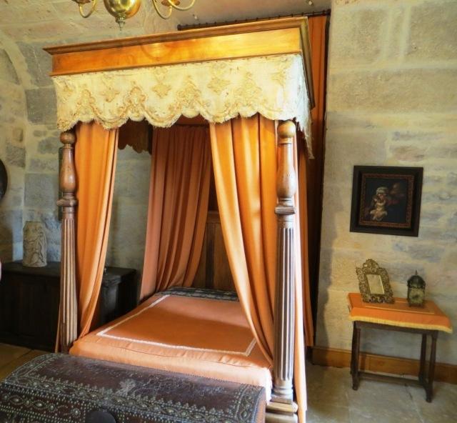 Reine Margot's bedroom