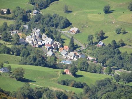 Saint-julien de Jordanne, toytown size from above