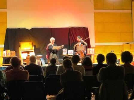 Words and music - storyteller and cellist