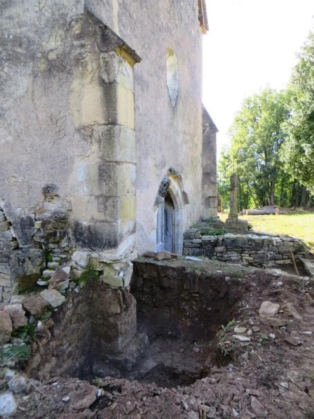Checking out a dodgy pillar