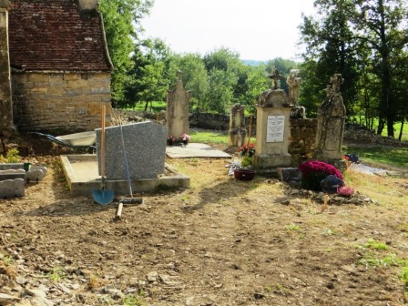 Graveyard at Teysseroles
