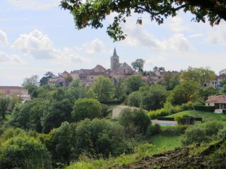 Autumn view of Parisot
