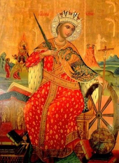 Orthodox icon of St. Catherine - Google
