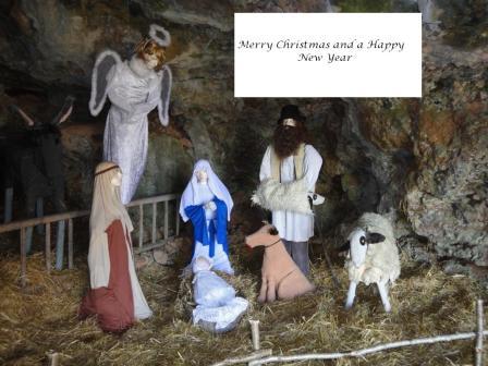 Christmas Crèche at Loze