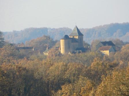 Saint-Grat from a distance