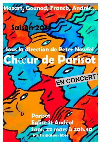 Parisot concert
