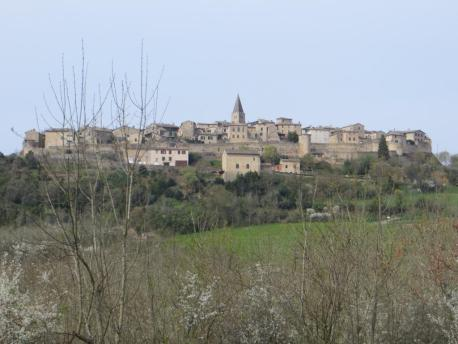 Fortified hilltop village of Puycelsi