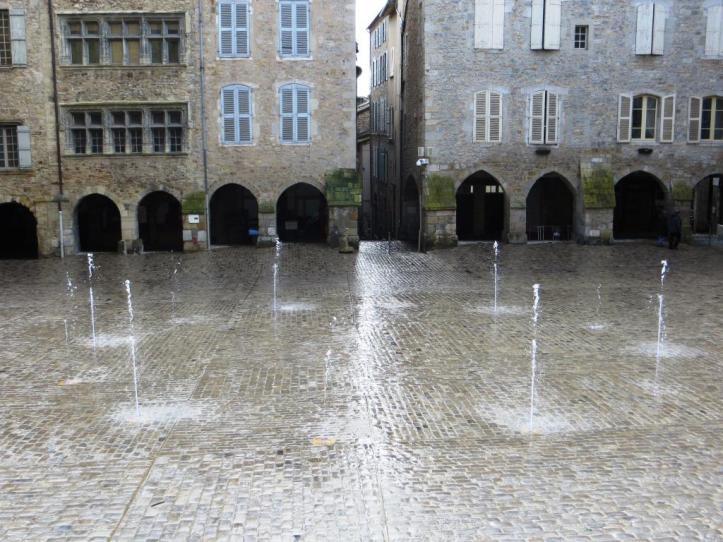 Villefranche new fountain