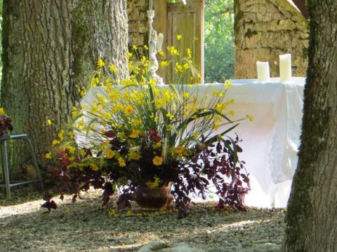 Open-air altar