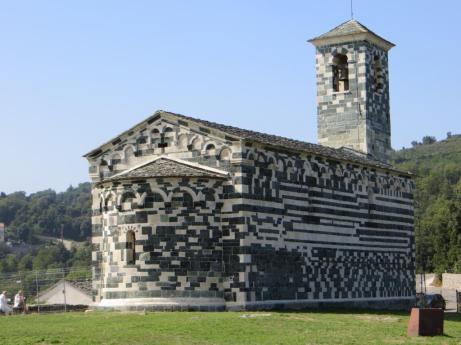 Pisan Church at Murato, Corsica