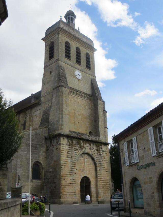 Eglise Saint-Sauveur - remains of the original abbey