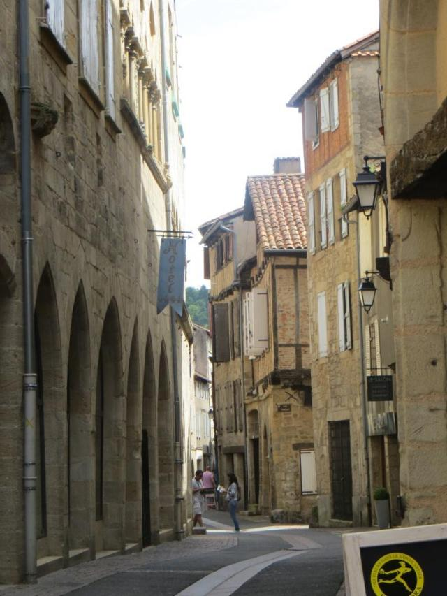 Twisting medieval streets